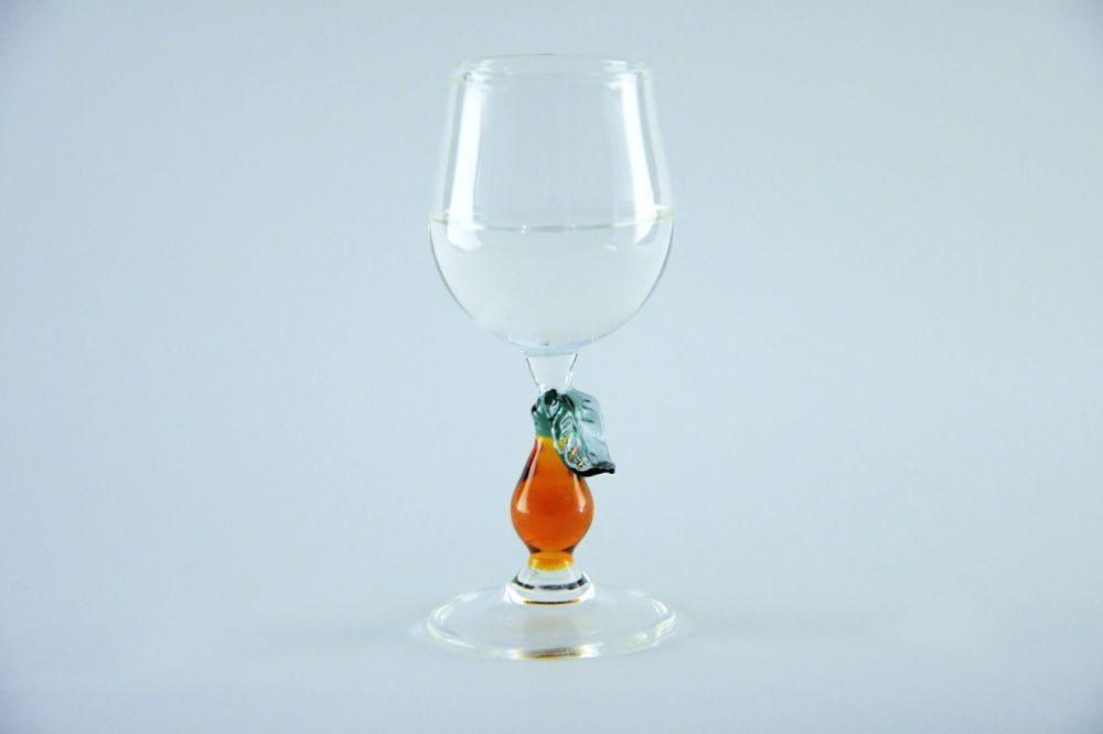 рюмка груша со стеклом