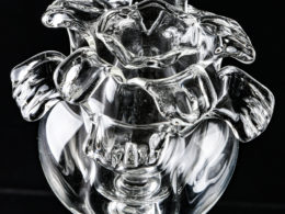 Вечная роза из прозрачного стекла - 1