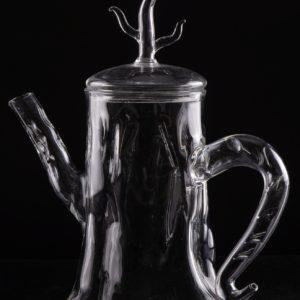 Чайник-корень из стекла